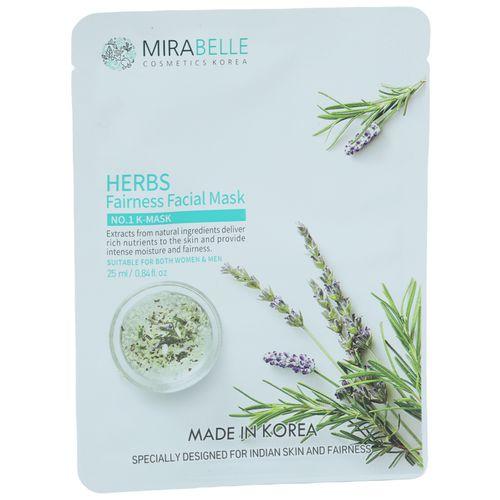 Mirabelle Korea - Herbs, Fairness Facial Mask, 1 pc