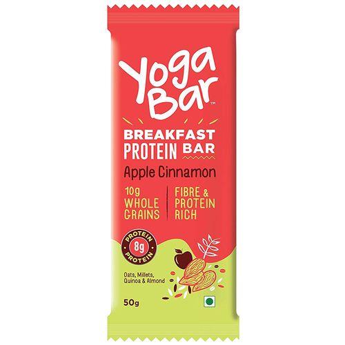 Yoga bar Breakfast Protein Bar - Apple Cinnamon, 50 gm
