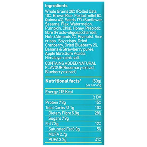Yoga bar Breakfast Protein Bar - Blueberry Pie, 50 gm