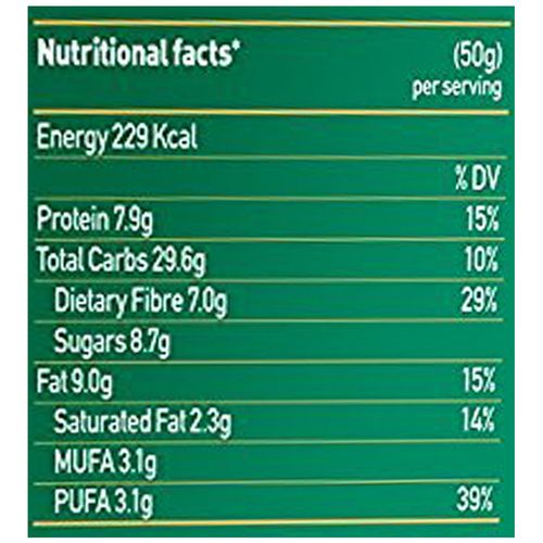 Yoga bar Breakfast Protein Variety Bar - Almond Coconut, 50 gm Pack of 6