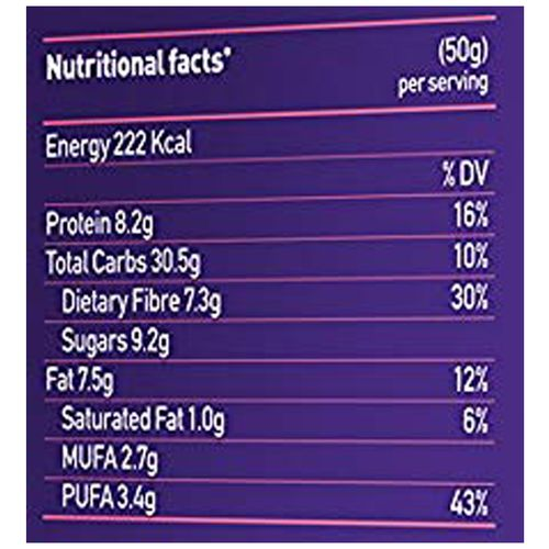 Yoga bar Breakfast Protein Bar - Apricot & Fig, 50 gm Pack of 6