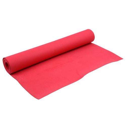 Natures Plus Yoga Mat - Red, PVC, 1 pc