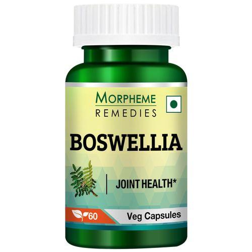 Morpheme Remedies Capsules - Boswellia, Shallaki, 500 mg, Veg, 60 pcs