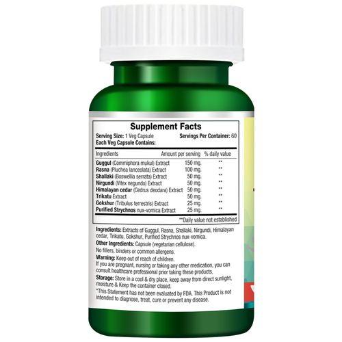Morpheme Remedies Capsules - Arthcare Plus, 500 mg, Veg, 60 pcs