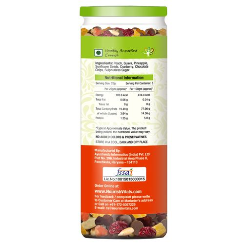 Nourishvitals Mix - Seed & Fruit, Fruit Fusion, 150 gm