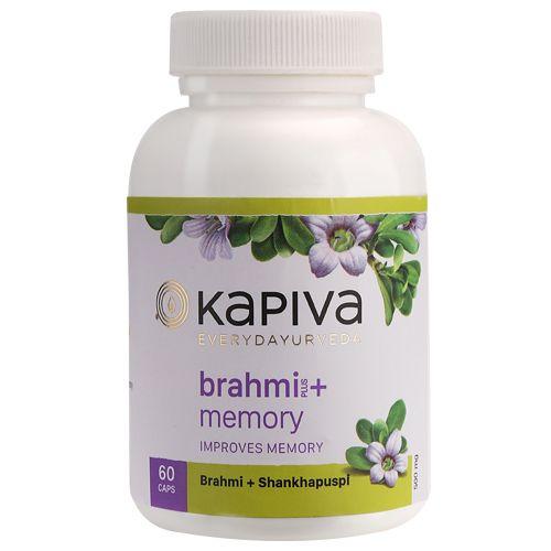 Kapiva Ayurveda Capsules - Brahmi & Shankhpushpi, 60 Capsules