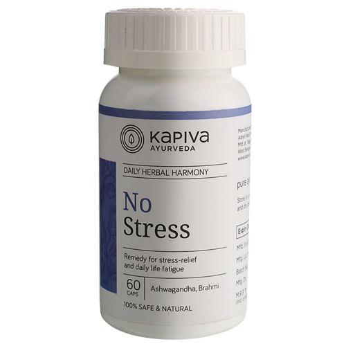 Kapiva Ayurveda Capsules - No Stress, 60 Capsules