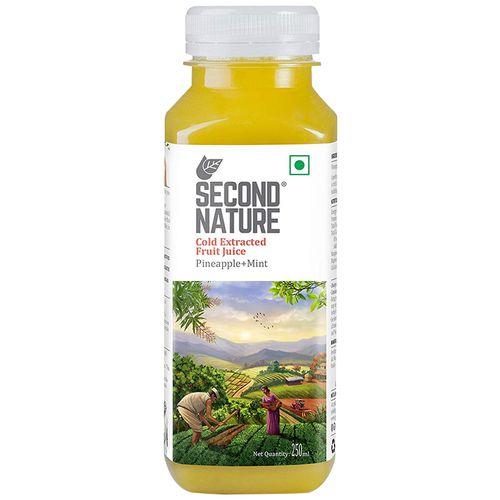 Second Nature Juice - Pineapple + Mint, 250 ml