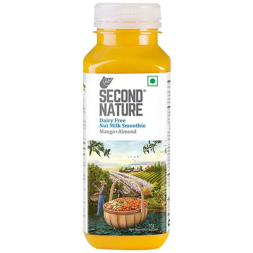Second Nature Smoothie - Nut Milk, Mango + Almond, 250 ml