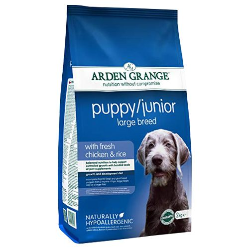 Arden Grange Pet Food - Large Breed, Puppy/Junior, Complete Dog Food, Chicken & Rice, 12 Kg