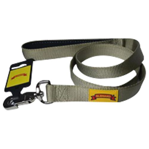 Glenand Padded Lead - 1 inch, Fawn Colour, 1 Pc