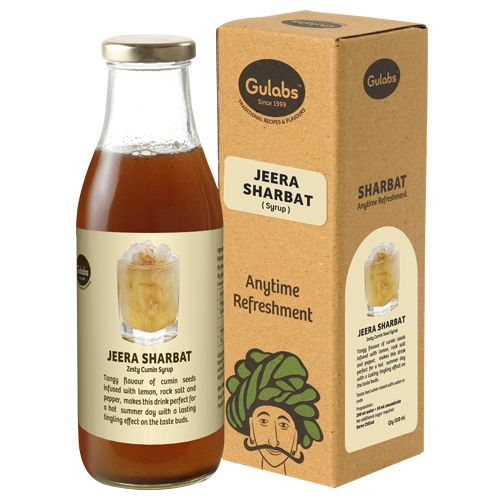 Gulabs Sharbat - Jeera, Syrup, 500 ml