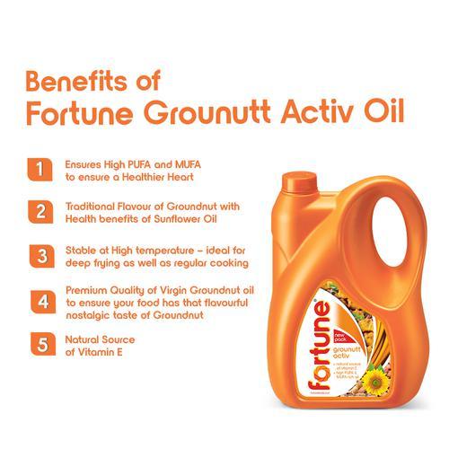 Fortune  Oil - Grounutt Activ, 5 L Jar