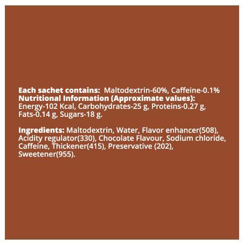 FAST&UP Energy Gel - Vegan, Chocolate Flavour, 30 gm