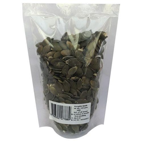 Healthy Buddha Seeds - Organic Pumpkin, 100 gm