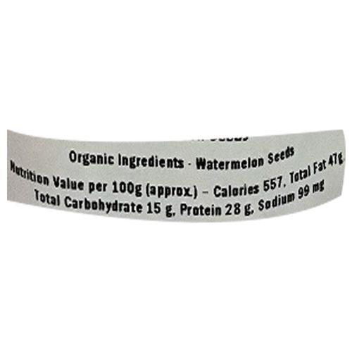 Healthy Buddha Seeds - Organic Watermelon, 100 gm