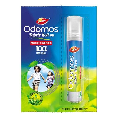 Odomos Mosquito Repellent - Fabric Roll-on, 8 ml