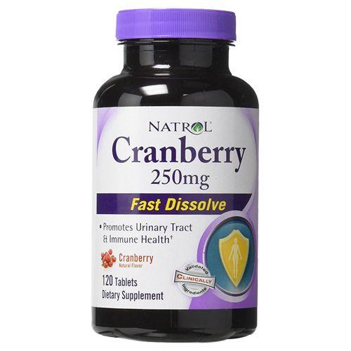 Natrol Tablets - Cranberry, 250 mg, 120 pcs