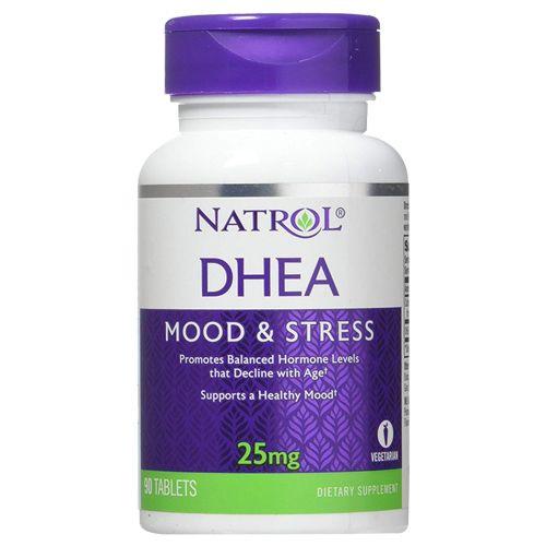 Natrol Tablets - DHEA, 25 mg, 90 pcs