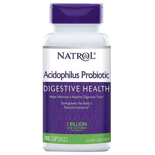 Natrol Capsules - Acidophilus, 100 pcs