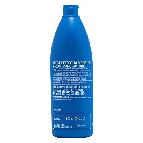 Parachute  Pure Coconut Oil, 600 ml Bottle
