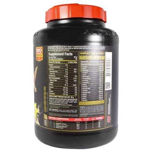 Allmax Nutrition Whey Protein - Isoflex, Vanilla, 5 lb