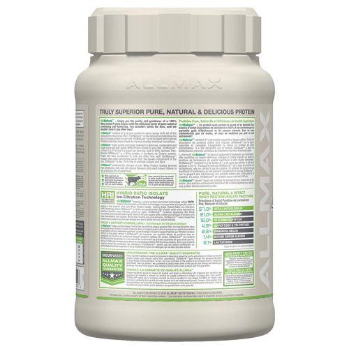 Allmax Nutrition Whey Protein - Isonatural, Vanilla, 2 lb