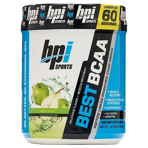 BPI Sports BCAA Powder - Apple Pear, Sports Best, 60 Servings