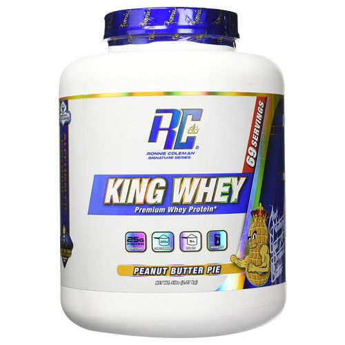 Ronnie Coleman Whey Protein - King, Peanut Butter Pie, 5 lb