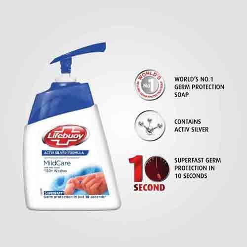 Lifebuoy Handwash - Mild Care, 1.5 lt