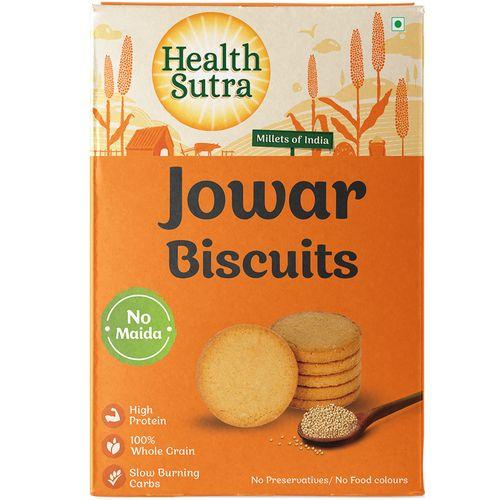 Health Sutra Jowar Biscuits, 100 g