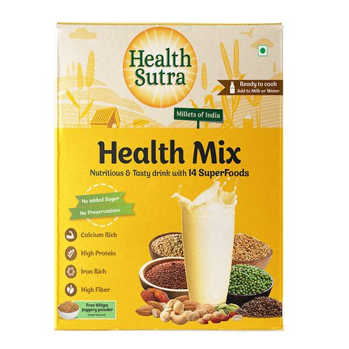 Health Sutra Health Mix - Nutritious & Tasty Blend, 300 g