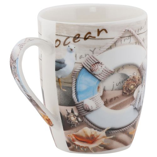Rslee Coffee-Tea-Milk Mug - Ocean Print, 275 ml