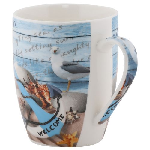 Rslee Coffee-Tea-Milk Mug - Oceanic Print, 275 ml