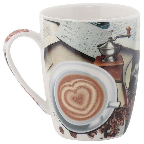 Coffee ShapedPrint275 Mug Tea Milk Rslee Heart Ml orBCeWdx