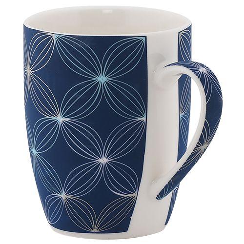 Rslee Coffee-Tea-Milk Mug - Flower Print, BB 381 3, 275 ml