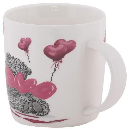 Rslee Coffee-Tea-Milk Mug - Teddy Bear, Love Print, 300 ml