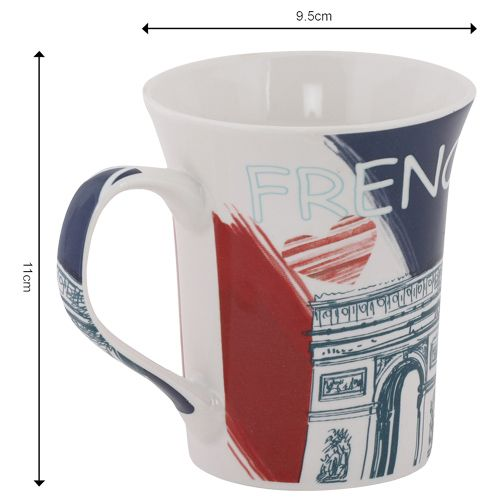Rslee Coffee-Tea-Milk Mug - French Monument Print, 350 ml
