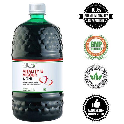 Inlife Supplement - Noni Juice Concentrate, Vitality & Vigour, 1 lt