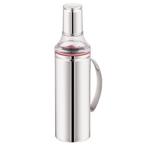 Mukti Stainless Steel Oil Dispenser With Handle, 1 pc