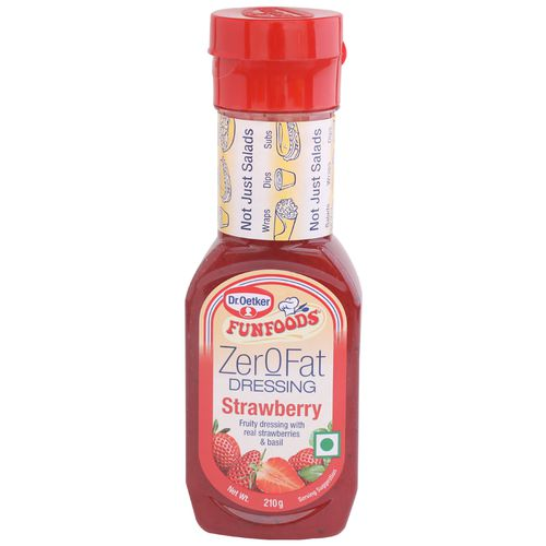 FunFoods Dressing - With Real Strawberries, 210 gm