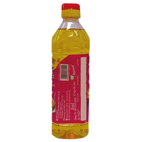 Pasumark Oil - Gingelly, 500 ml Pet Bottle
