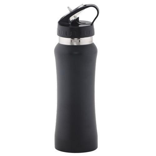 DP Stainless Steel Water Bottle- Black BB 508, 750 ml