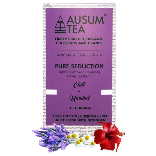 Ausum Tea Tea - White, Chill & Unwind, Pure Seduction, 15 pcs