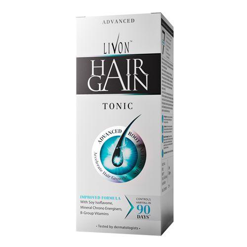 Livon Serum Tonic - Hair Gain, For Men, 70 ml