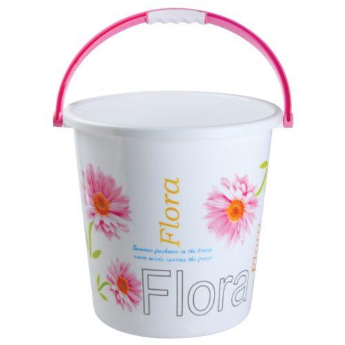 Nayasa Boon Bucket 20 Printed - Pink, 18 L
