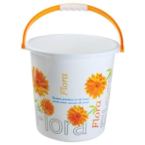 Nayasa Boon Bucket 20 Printed - Yellow, 18 L