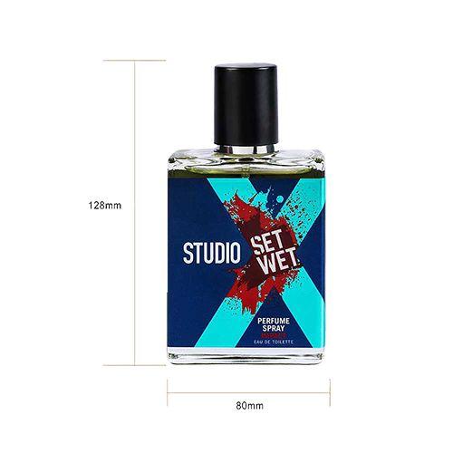 Set Wet Studio X Perfume Spray For Men - Impact, 49 ml