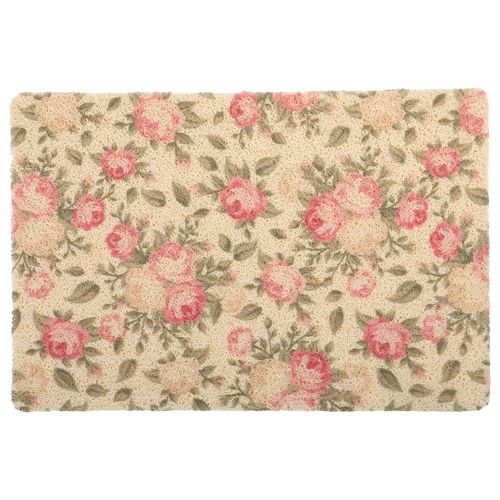 DP Door Mat - Multicolour, Floral Print MC BB 567_ 6, 1 pc