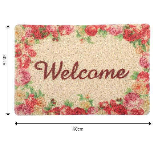 DP Door Mat - Multicolour, Floral Print MC BB 567_ 9, 1 pc